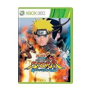 Usado: Jogo Naruto Shippuden: Ultimate Ninja Storm Generations - Xbox 360
