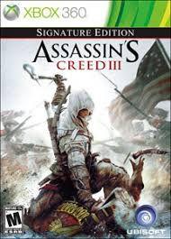 Usado: Jogo Assassin's Creed III - Signature Edition - Xbox 360