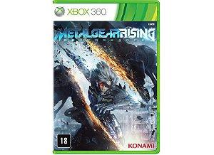 Usado: Jogo Metal Gear Rising - Revengeance - Xbox 360
