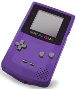 Usado: Console Game Boy Color - Roxo