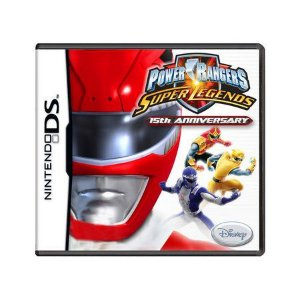 Usado: Jogo Power Rangers: Super Legends - 15th Anniversary - Nintendo DS