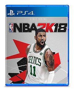 Usado: Jogo NBA 2K18 - PS4