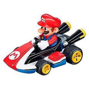 Usado: Carro Fricção Pull & Speed Mario Kart: Mario - Standard Kart Carrera