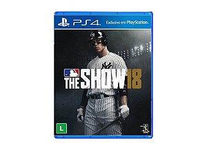 Jogo The MLB Show 18 - PS4