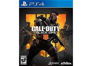 Novo: Jogo Call Of Duty: Black Ops 4 - PS4
