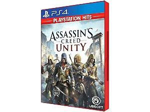 Novo: Jogo Assassin's Creed Unity - PS4