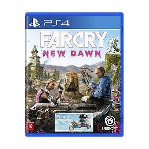 Novo: Jogo Far Cry: New Dawn - PS4