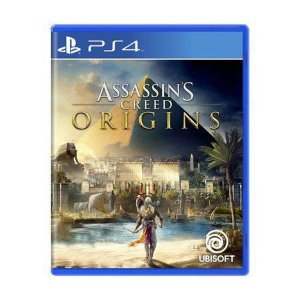 Novo: Jogo Assassin's Creed Origins - PS4