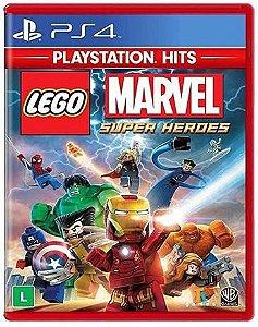 Novo: Jogo Lego: Marvel Super Heroes - PS4