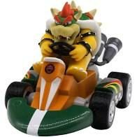 Novo: Super Mario Kart: Original Mini Figuras Pull-Back Racers - Bowser