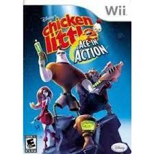 Usado: Jogo Chicken Little - Ace in Action - Wii
