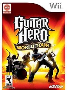 Usado: Jogo Guitar Hero World Tour - Wii