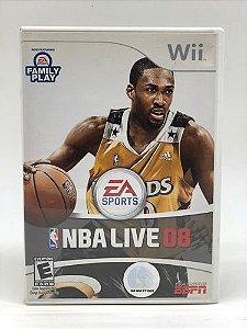 Usado: Jogo NBA Live 08 - Wii