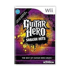 Usado: Jogo Guitar Hero Smash Hits - Wii