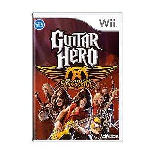 Usado: Jogo Guitar Hero Aerosmith - Wii