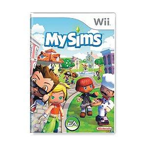 Usado: Jogo My Sims - Wii