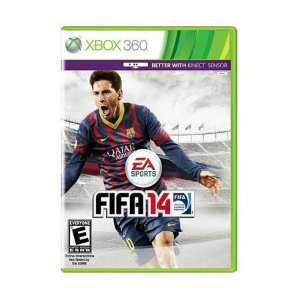 Usado: Jogo Fifa 14 - Xbox 360