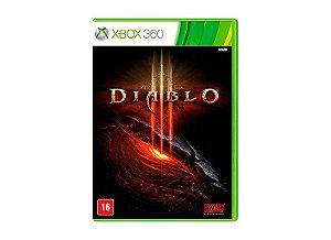 Usado: Jogo Diablo III - Xbox 360