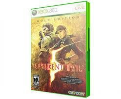 Usado: Jogo Resident Evil 5: Gold Edition - Xbox 360