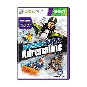 Usado: Jogo Kinect Motionsports Adrenaline - Xbox 360