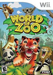 Usado: Jogo World Of Zoo - Wii