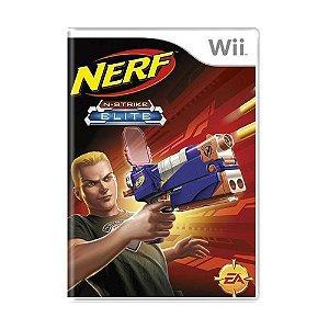 Usado: Jogo Nerf: N-Strike Elite - Wii