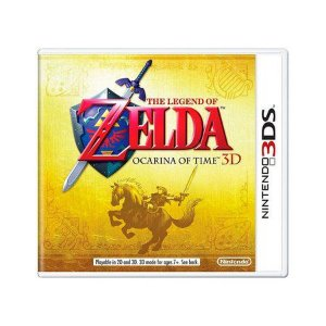 Usado: Jogo The Legend of Zelda Ocarina of Time 3D (Sem Capa) - Nintendo 3DS
