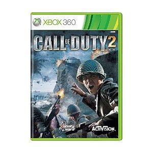 Usado: Jogo Call of Duty 2 ( Sem Encarte) - Xbox 360