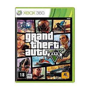 Novo: Jogo GTA 5 - Xbox 360