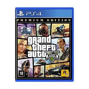 Novo: Jogo GTA 5 - Premium Edition - PS4