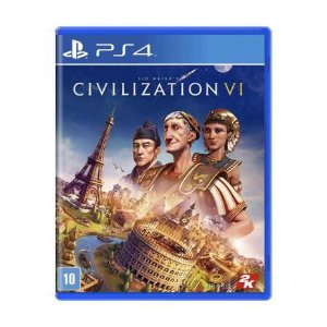 Novo: Jogo Sid Meier's Civilization VI - PS4