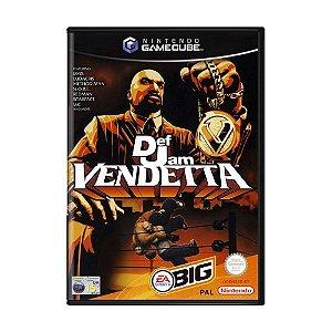 Usado: Jogo Def Jam Vendetta - Game Cube