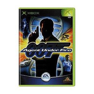 Usado: Jogo 007: Agent Under Fire (Sem Capa) - Xbox