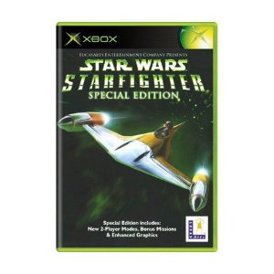 Usado: Jogo Star Wars: Starfighter Special Edition (Sem Capa) - Xbox