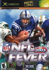 Usado: Jogo NFL 2003 Fever (Sem Capa) - Xbox