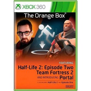 Usado: Jogo The Orange Box (Sem Capa)  - Xbox 360