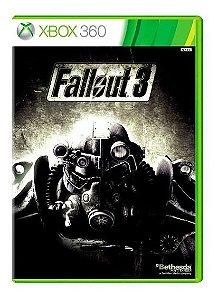 Usado: Jogo Fallout 3 (Sem Capa) - Xbox 360