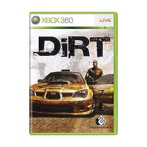 Usado: Jogo Dirt (Sem Capa) - Xbox 360