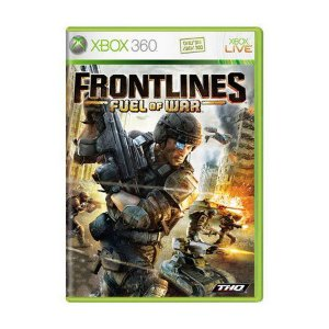 Usado: Jogo Frontlines Fuel Of War (Sem Capa) - Xbox 360