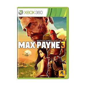 Usado: Jogo Max Payne 3 (Sem Capa) - Xbox 360