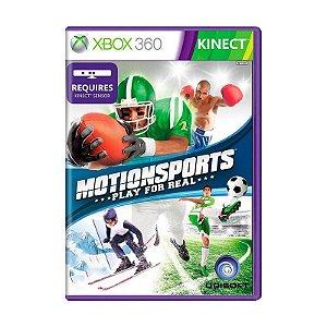 Usado: Jogo Motionsports: Play For Real (Sem Capa) - Xbox 360