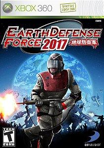 Usado: Jogo Earth Defense Force 2017 (Sem Capa) - Xbox 360