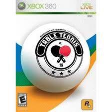 Usado: Jogo Table Tennis (Sem Capa) - Xbox 360
