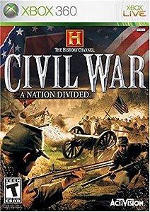 Usado: Jogo Civil War: A Nation Divided (Sem Capa) - Xbox 360