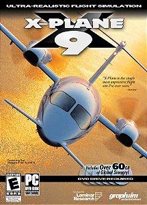 Usado: Jogo X-Plane 9 (Sem Capa) Disc 1 - PC