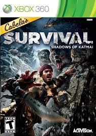 Usado: Jogo Cabela's Survival: Shadows Of Katmai (Sem Capa) - Xbox 360
