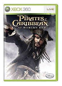 Usado: Jogo Pirates Of The Caribbean: At World's End (Sem Capa) - Xbox 360