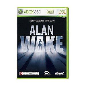 Usado: Jogo Alan Wake (Japonês) - (Sem Capa) - Xbox 360