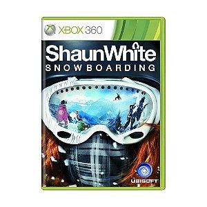 Usado: Jogo Shaun White Snowboarding - (Sem Capa) - Xbox 360