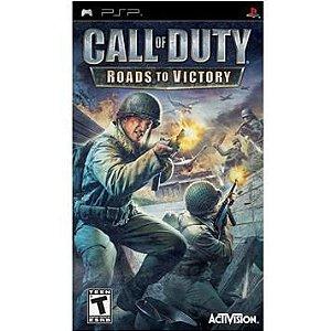 Usado: Jogo Call Of Duty: Roads To Victory (Sem Capa) - PSP